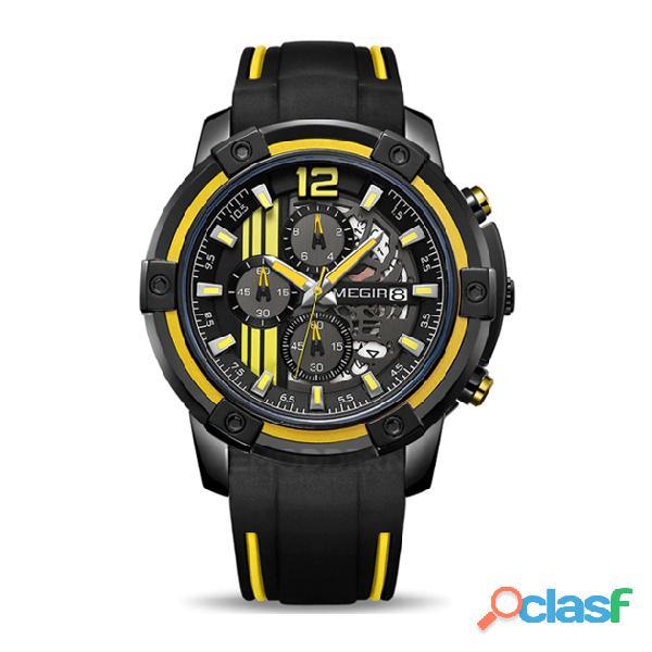 Relojes Megir para hombre y mujer 4