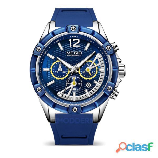 Relojes Megir para hombre y mujer 3