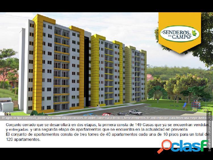 Apartamentos Senderos del Campo a la venta Pereira
