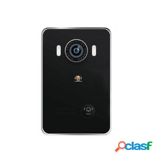 Video portero con timbre y acceso por red con smartphone o tablet
