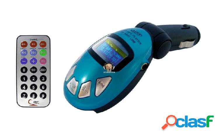 Transmisor fm mp3 para carro