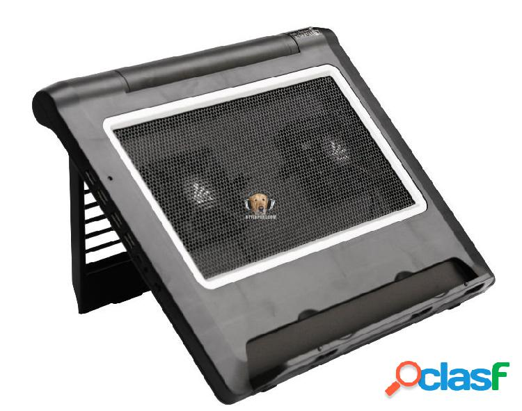 Base refrigerante reclinable para portátil 2 a2