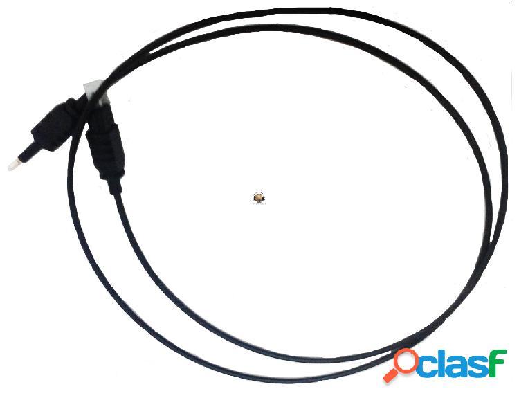 Cable de audio optico toslink a mini plug spdif 20cm