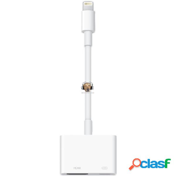Cable hdmi original apple para ipad mini iphone 5 lightning
