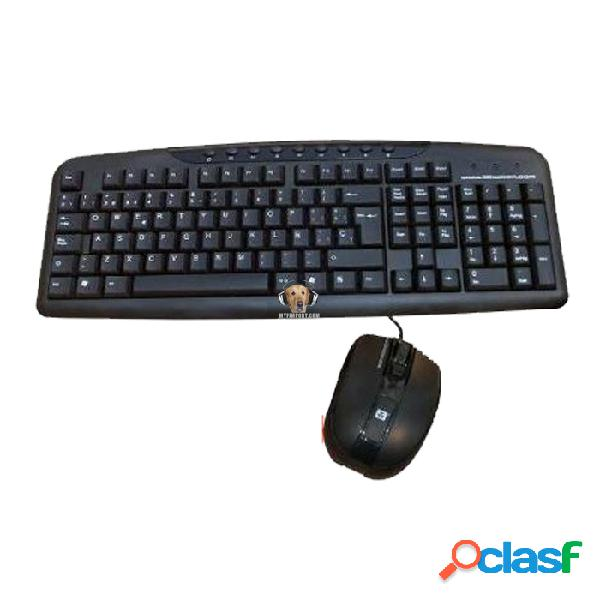 Combo teclado y mouse usb 3bumen mr. combo with speedy