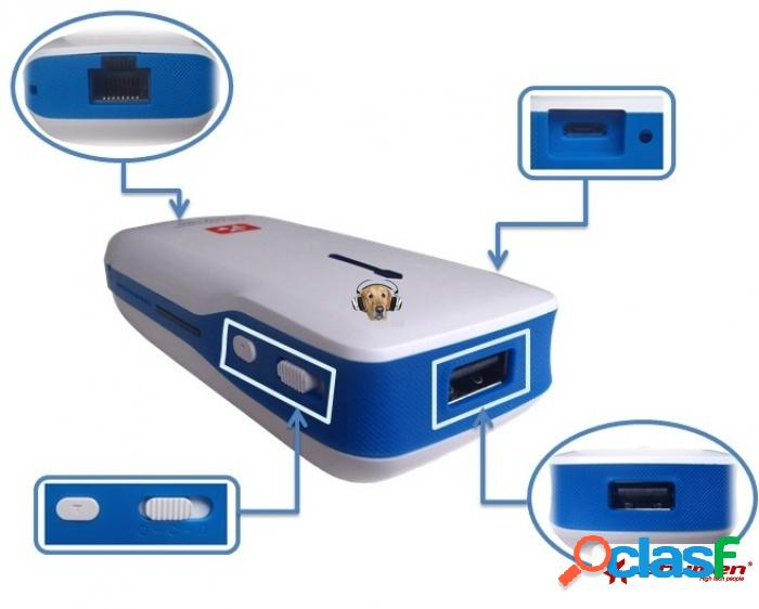 Router 3g portable 3bumen mas power bank 5500 m.a.