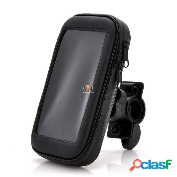 Soporte y estuche de bicicleta para celular