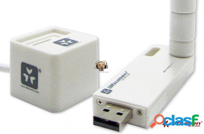 Tarjeta de red usb wifi mini cazadora 3bumen