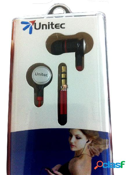Audifonos 3.5mm in ear unitec ua23