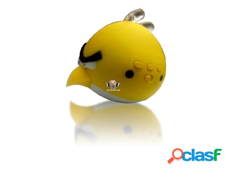 Parlante mp3 angry birds lector usb fm