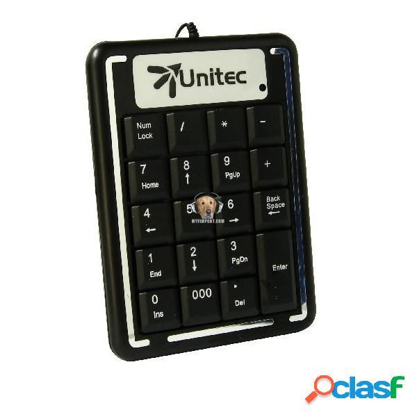 Teclado numerico usb unitec