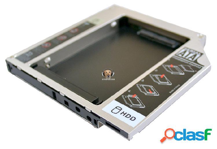 Unidad para segundo disco duro sata en el portatil caddy