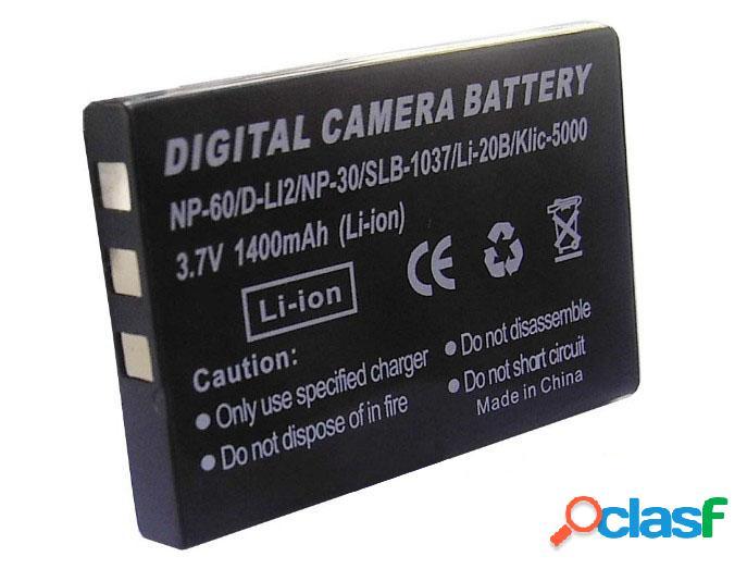 Bateria para camara digital 3.6v, 1200 m.a.