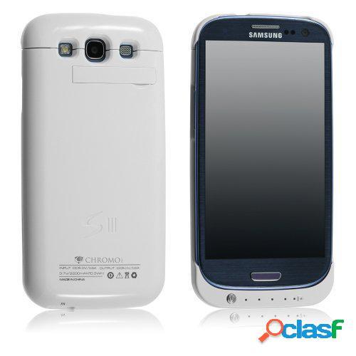 Estuche con Bateria Para Samsung Galaxy S3 3200mA