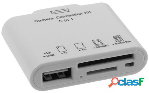 Kit de conexion camara para ipad sd y usb