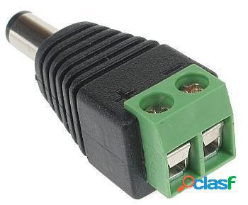 Conector de corriente para camaras de seguridad