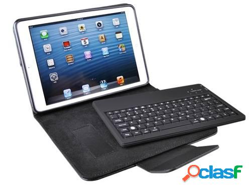Estuche con teclado bluetooth para ipad mini
