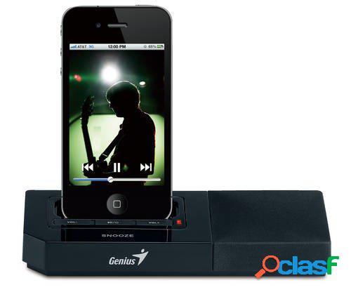 Parlante con base de carga para iphone y ipod genius sp-i500