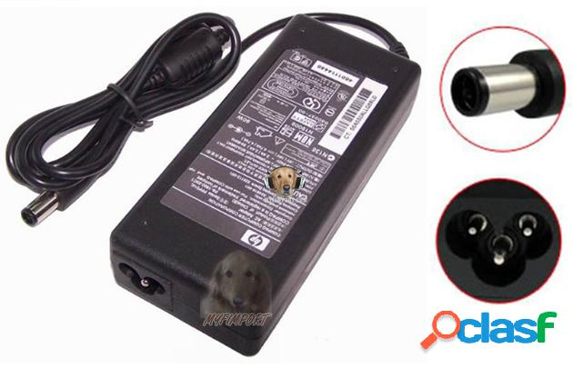 Adaptador Portatil HP Plug Aguja 90W