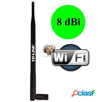 Antena omnidireccional 8dbi tp link tl-ant2408cl