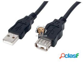 Cable Extensor USB de 3m Unitec