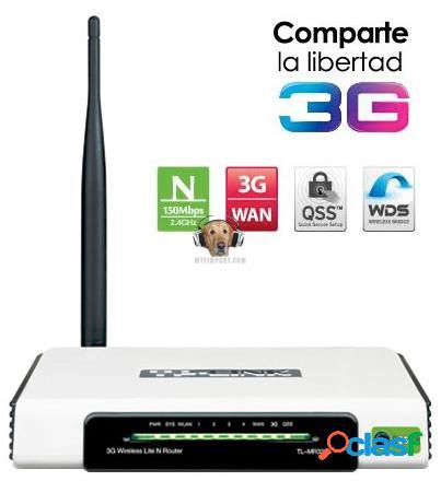Router 3g tp link 150mbps n tl-mr3220