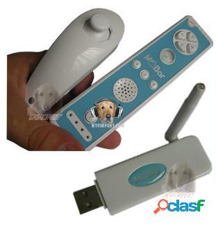 Wii pc control inalambrico con sensor