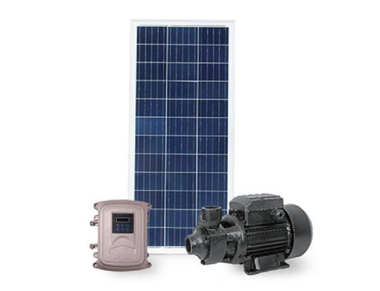 Bomba periférica solar controlador