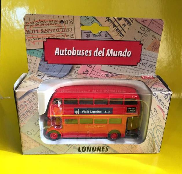 Bus london londres escala 1/72 metal y plastico nuevo