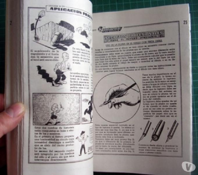 Curso de dibujo continental schools 66 lessons cartoon cours