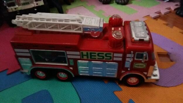 Camión de bomberos hess coleccionable importado usa