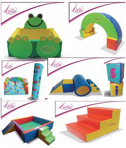 Gimnasio infantil para jardin y bebes en espuma, baby gym,