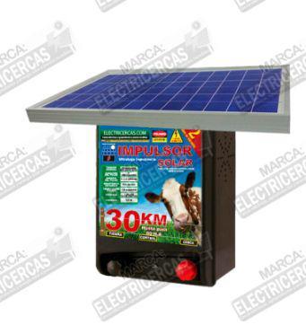 Impulsor con panel solar para 30km