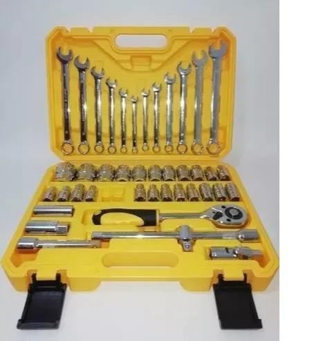Juego de copas 1/2 llaves mixtas 43 piezas trabajo pesado