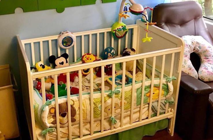 Cuna bebe marca mothercare