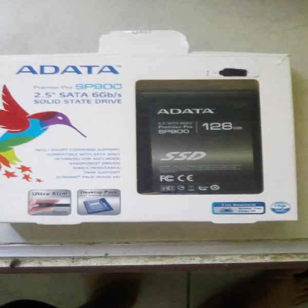 Disco duro adata premier pro sp900 de 128gb. nuevo