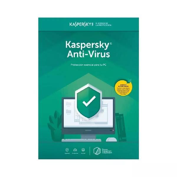 Licencia antivirus kaspersky digital base 1 dispositivo 12