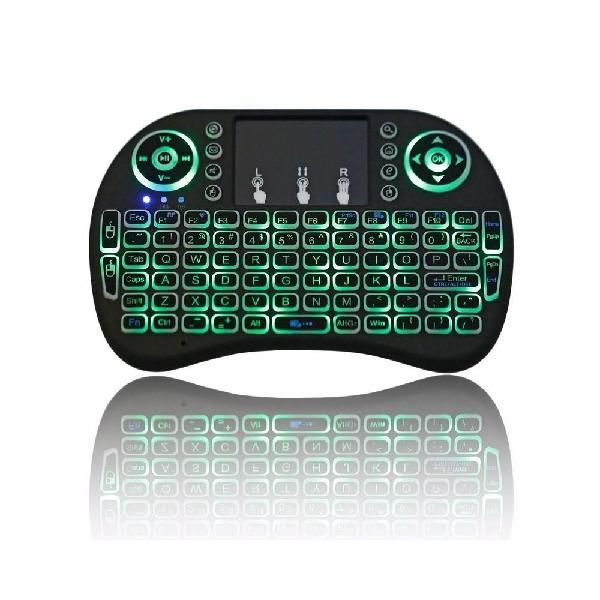 Lleva dos teclados touchpad inalámbrico android,smart tv,