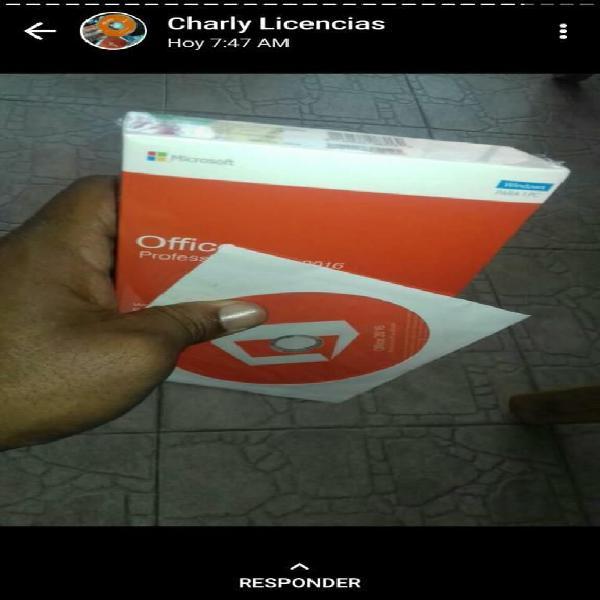 Licencias de windows y office precio dis