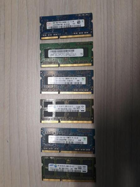 Memorias ram 2gb para portatil 20000