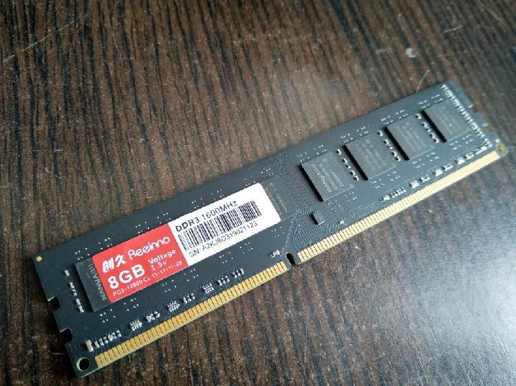 memoria ram ddr3 8gb bus 1600 pc 12800