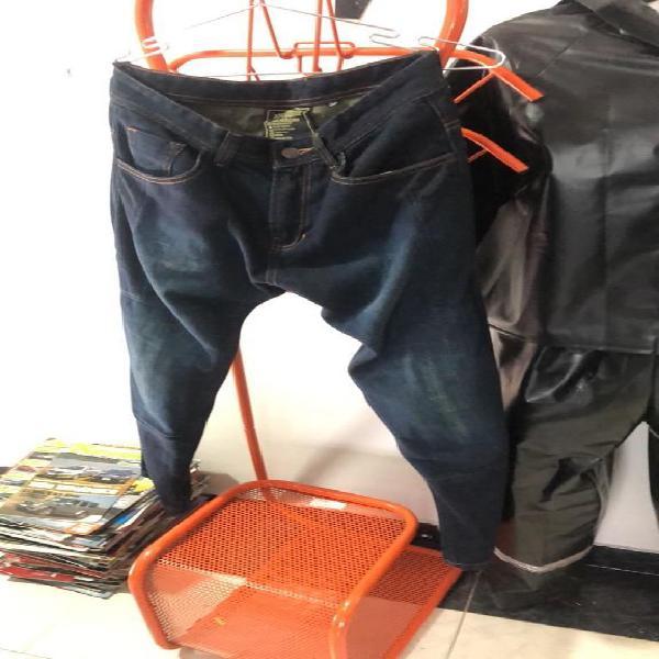 Jean moto con proteccion y kevlar 30