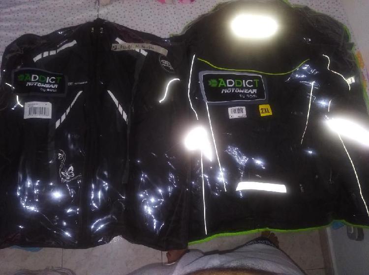 Se venden chaquetas con protecciones adt
