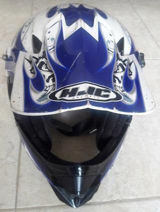 Vendo casco para motocicleta hjc