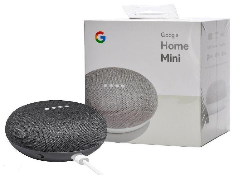 Google home mini parlante iinteligente asistente virtual