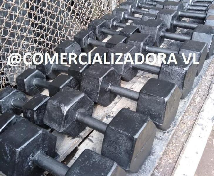 Fabricantes mancuernas hexagonales gym