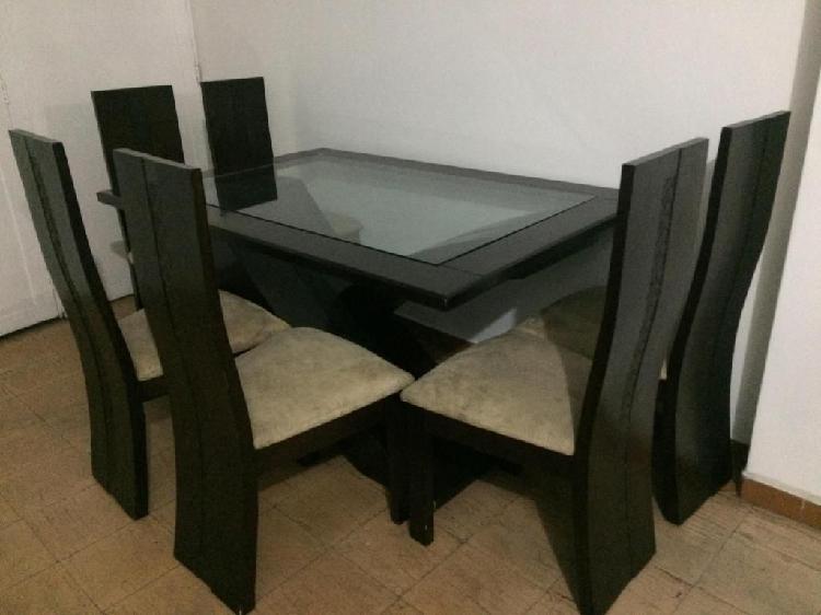 Juego comedor mesa sillas 【 OFERTAS Diciembre 】 | Clasf