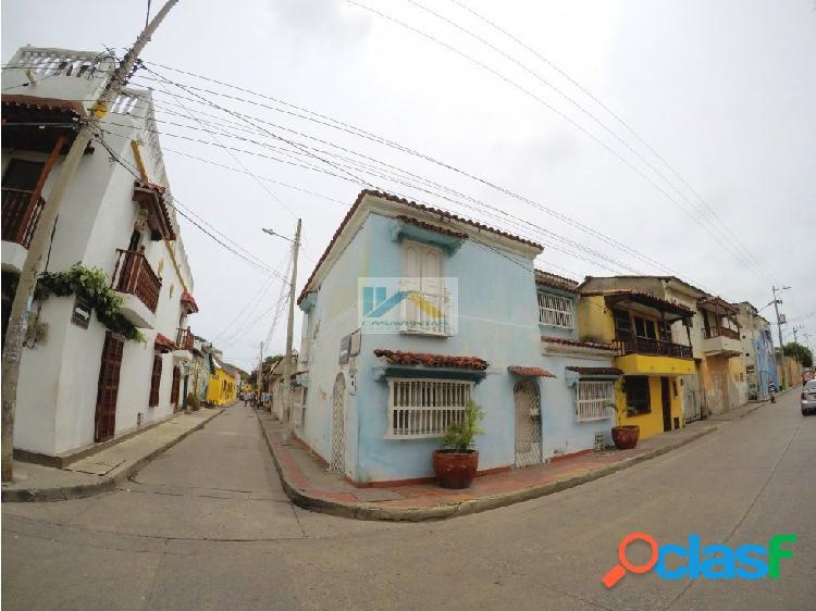 Hermosa casa colonial barrio getsemani cartagena