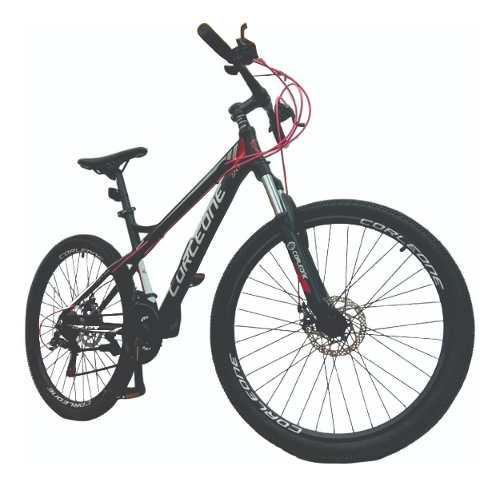 Bicicleta aluminio shimano rin 26 todo terreno susp hidr +ob
