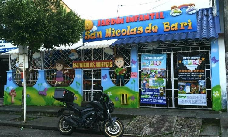 Jardín infantil san nicolas de bari